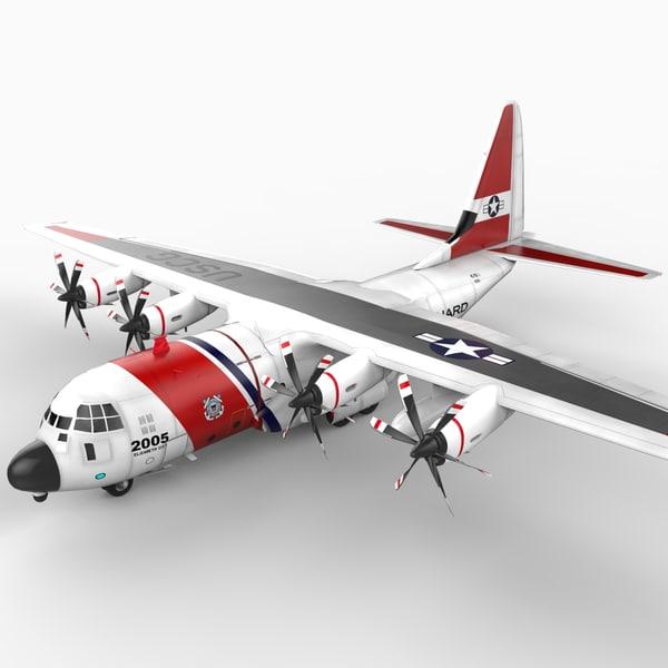 3d coast guard hc-130j model
