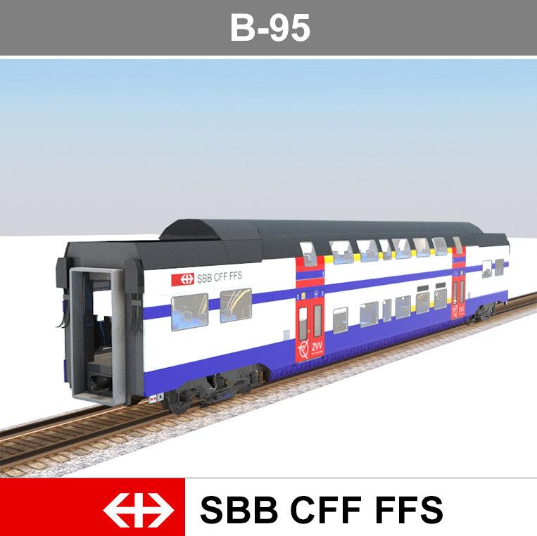 3ds passenger train