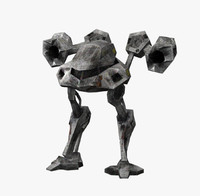 3d model of mech robot