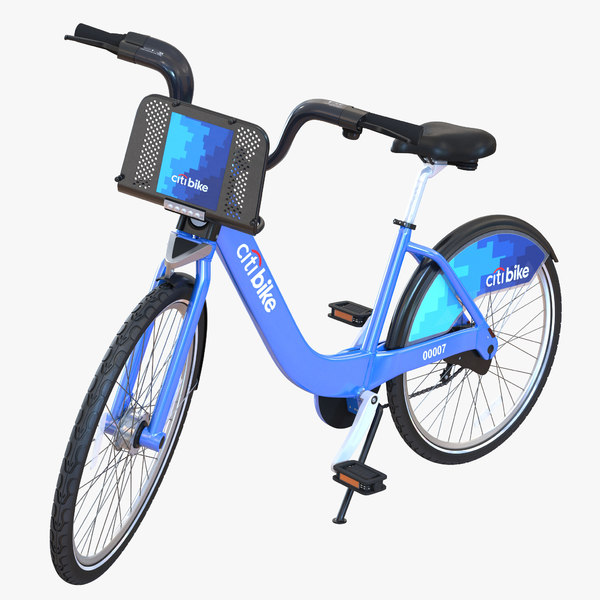 new york citibike 3d max
