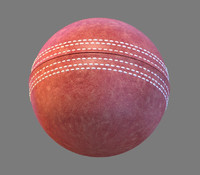 3d obj cricket ball