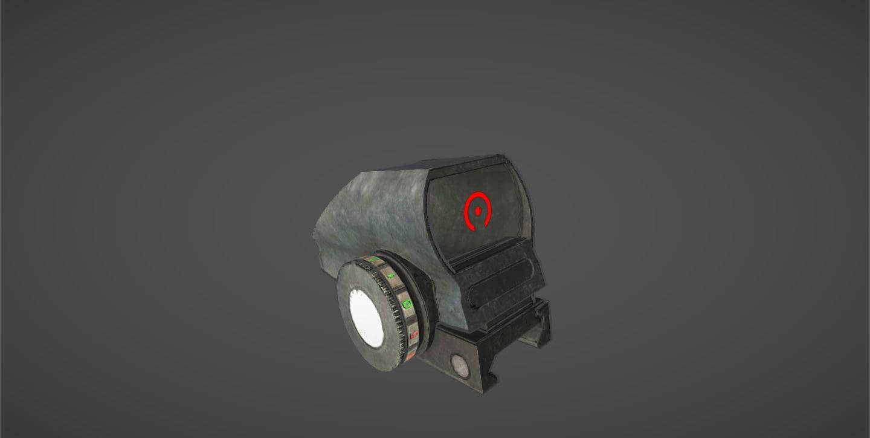 3d hd33 sight