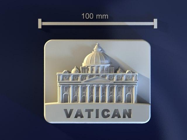 vatican mold hand 3d model
