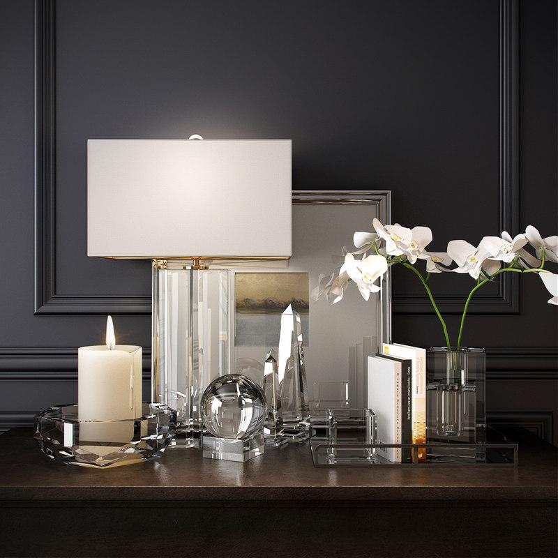decorative williams sonoma 3d model