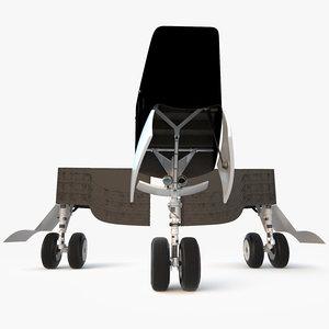 3d airplane landing gear aircraft