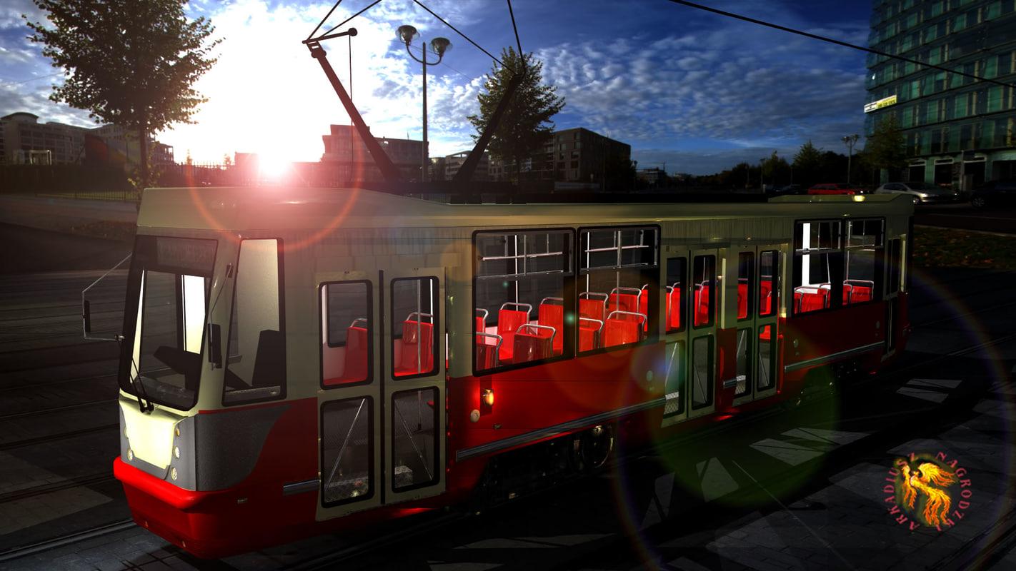3d tram 105na