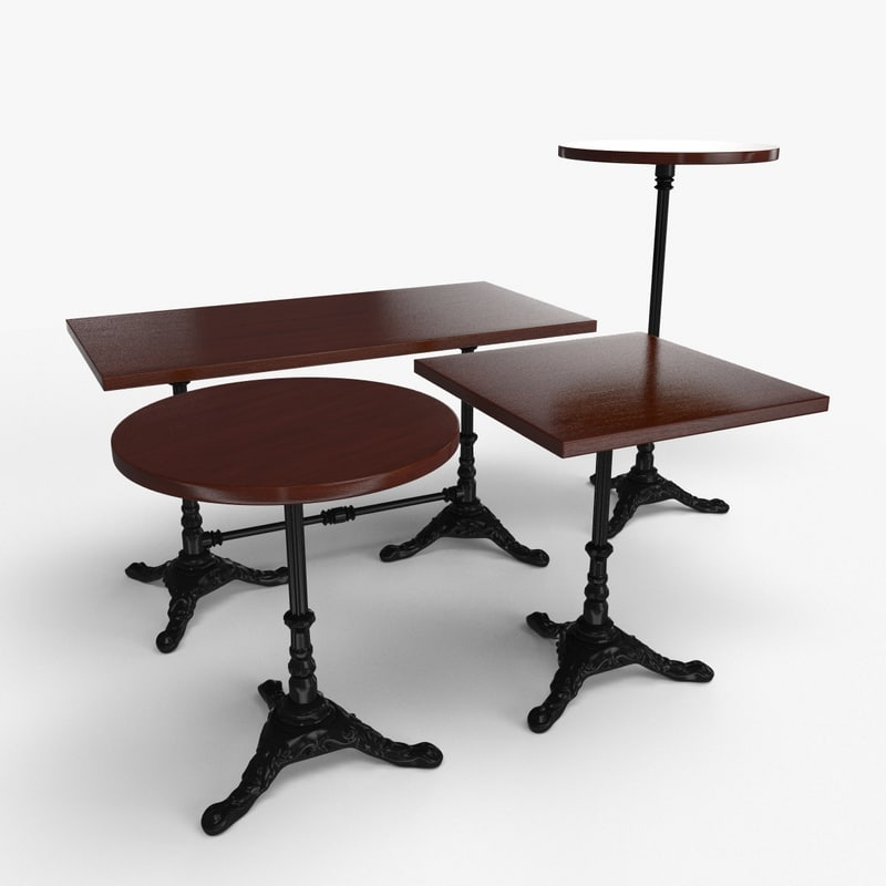 table bar 3d max