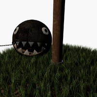 chain chomp 3d max