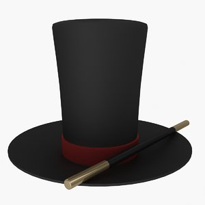 3ds max magician hat wand
