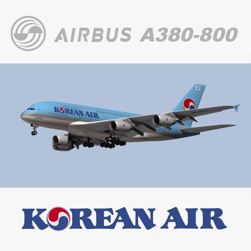 max airbus korean air