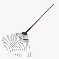 3d model rake tool