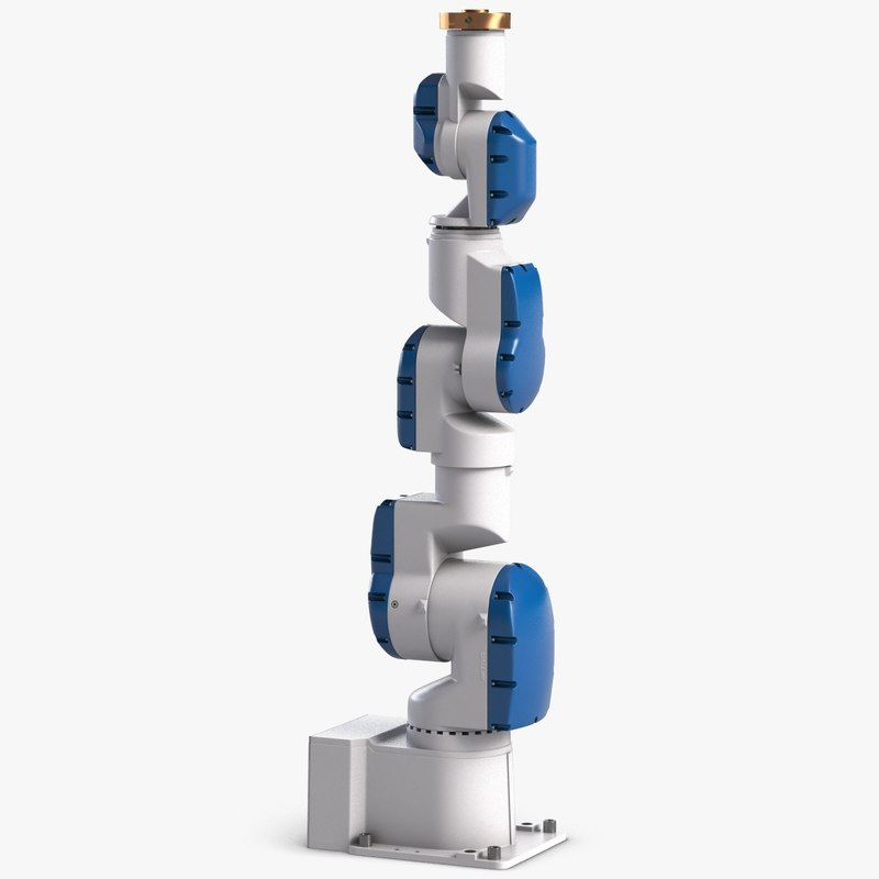 industrial robot motoman sia 3d model