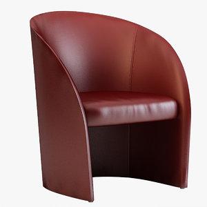 intervista armchair poltrona frau model