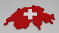 3d switzerland flag
