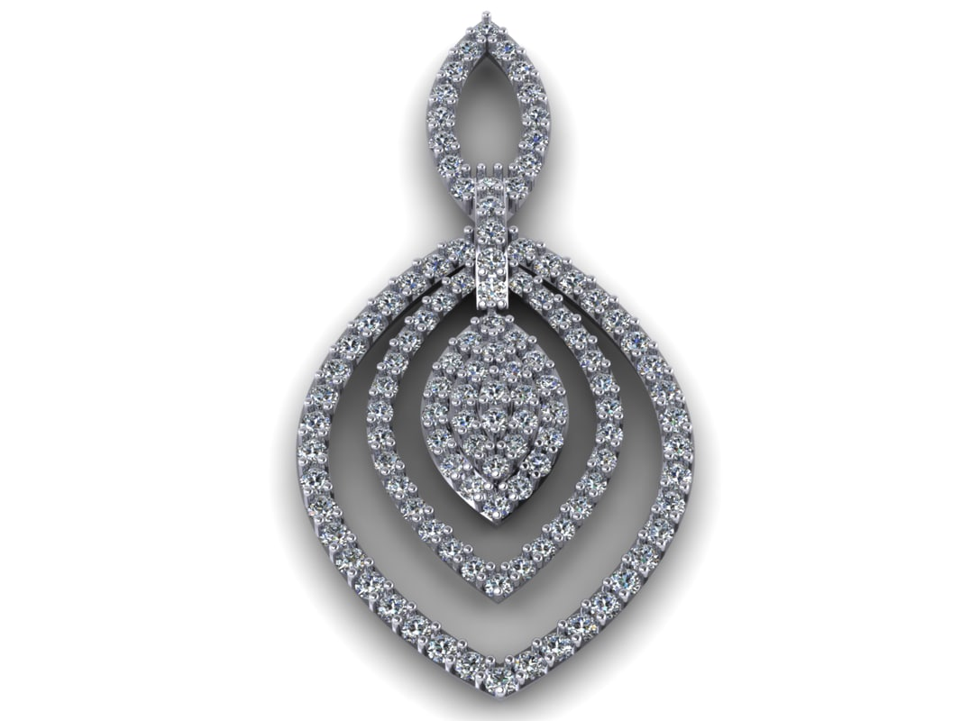 3dm diamond earring