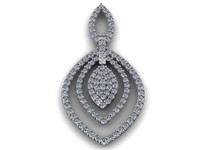3dm diamond earring