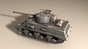 tank wwii c4d