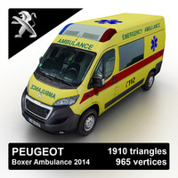 Peugeot Boxer Emergency Ambulance 2015