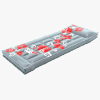 3d model of air mattress