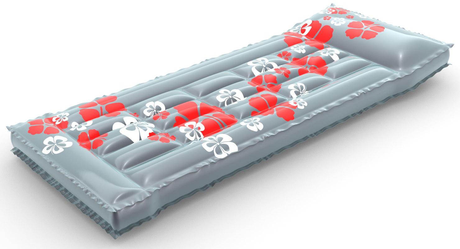 3d model of air mattress