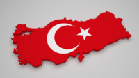 turkey flag 3d 3ds