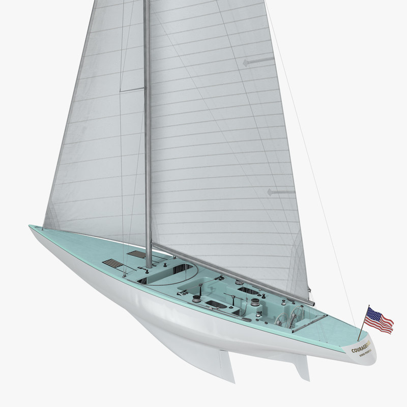 stephens courageous america s 3d model