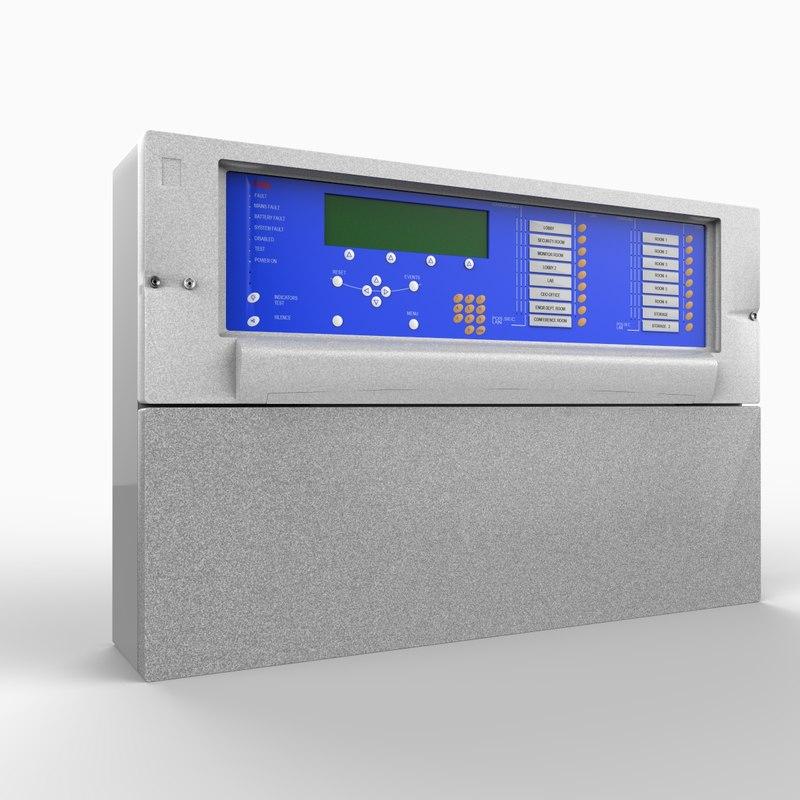 maya alarm control panel