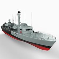 Russian OSA-II Class Missile Boat