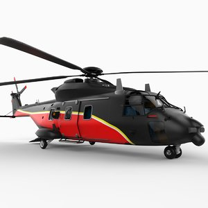 nhi nh-90 helicopter nh90 3d model