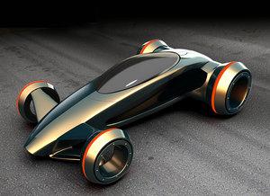 future car 3d max