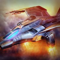 3d model fighter bomber