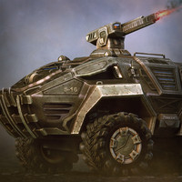 3ds max infantry fighting vehicle