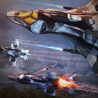 3d model recce fighter