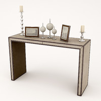 3d andrew martin agatha console table model