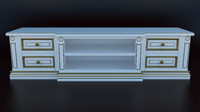 chest drawers 3d obj