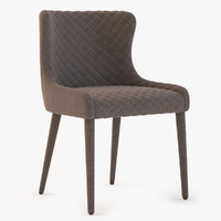 Detailed Saxon Dining Chair by Cocorepublic