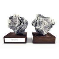 meteorite decor
