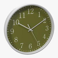 office clock 2 green max