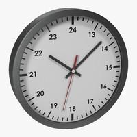 Office Clock White