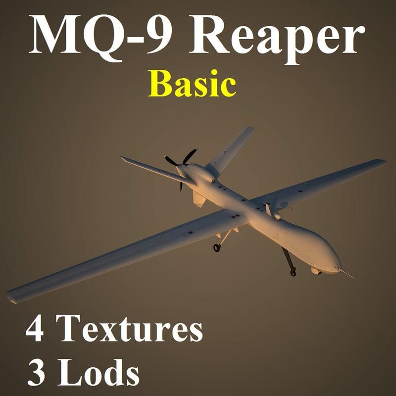 3d reaper basic model