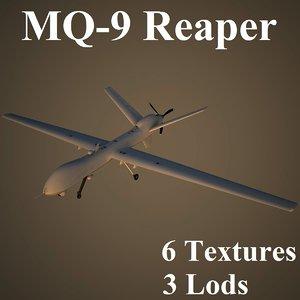 3d reaper air low-poly