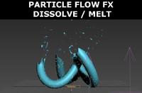 free max model particle flow dissolve melt