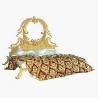 obj bed baroque