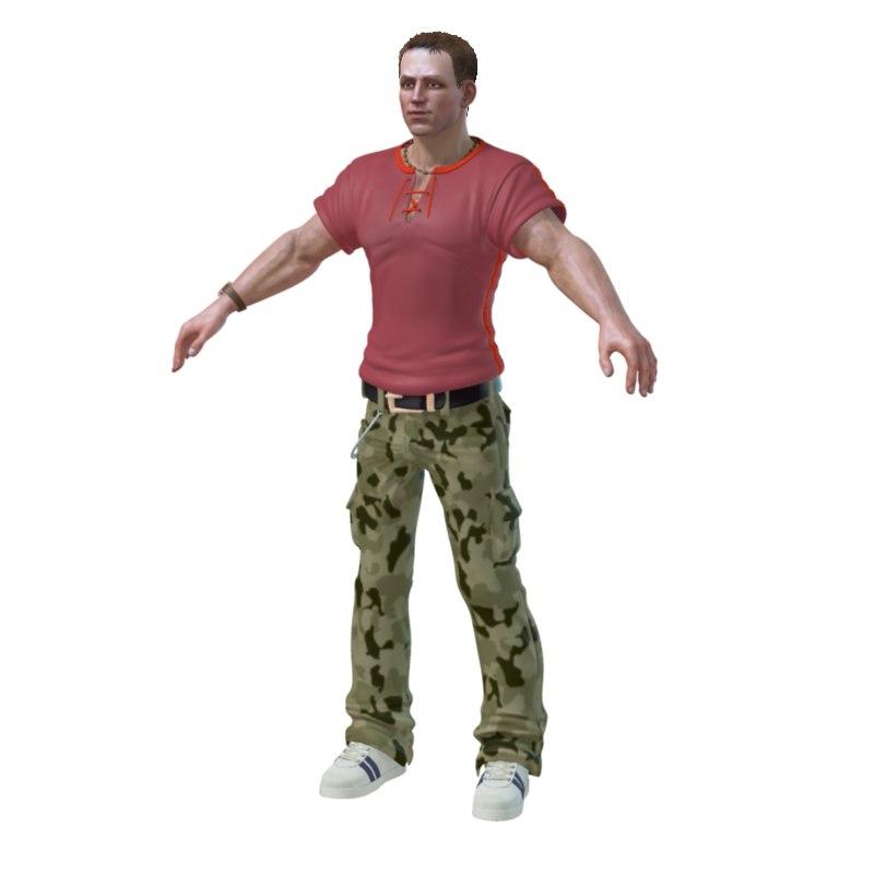 gagarin boy 3d model