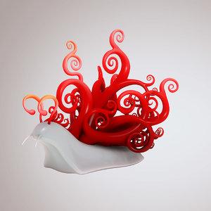 3ds max stylized snail