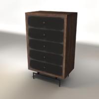 Steel Facade Dresser