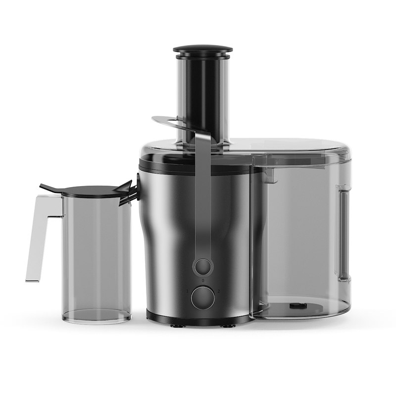 metal electric juicer 3d model
