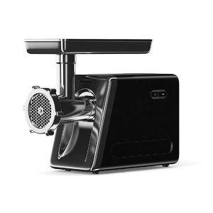 black electric meat grinder x