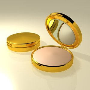 powder compacts 3d model