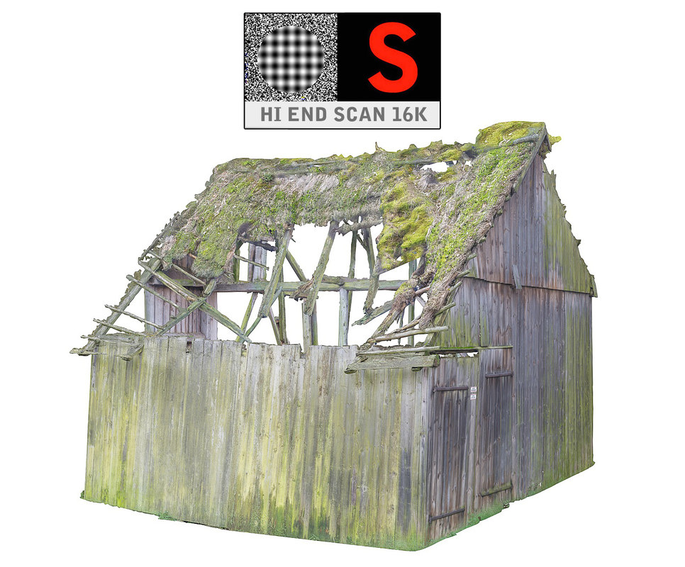 3d model country scan 16k